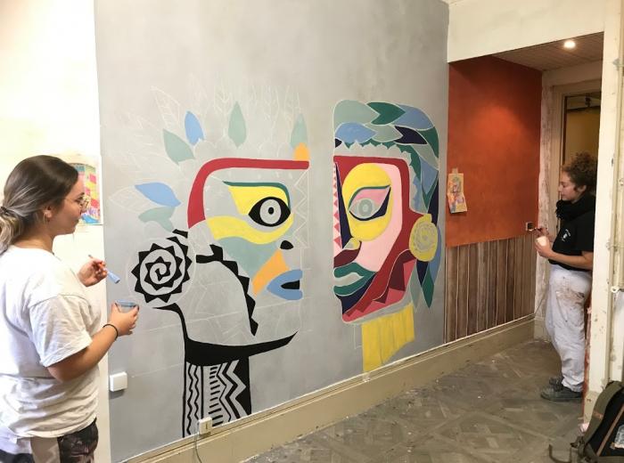 INFA Gouvieux peintres décorateurs formation