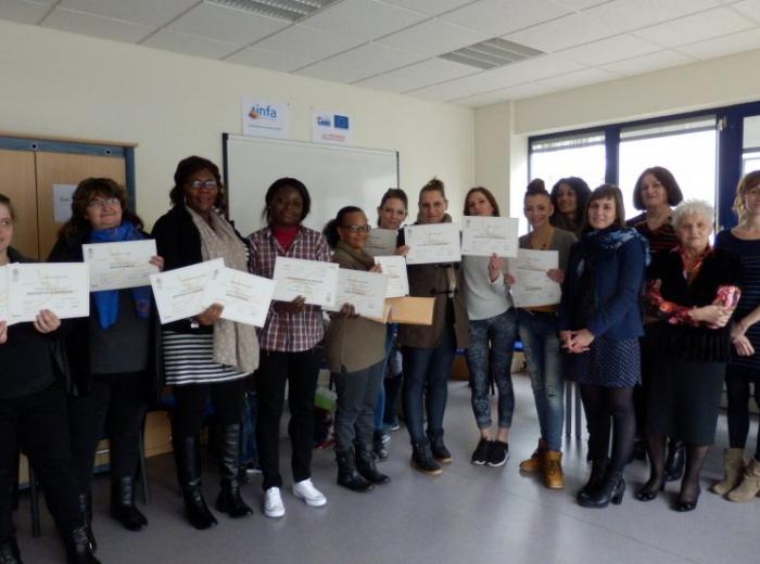 Pleine réussite aux certifications IPÉRIA en Bourgogne-Franche-Comté