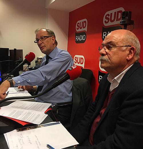 Christian Laine et Alain Langlacé, invités du Grand sur à Sud Radio