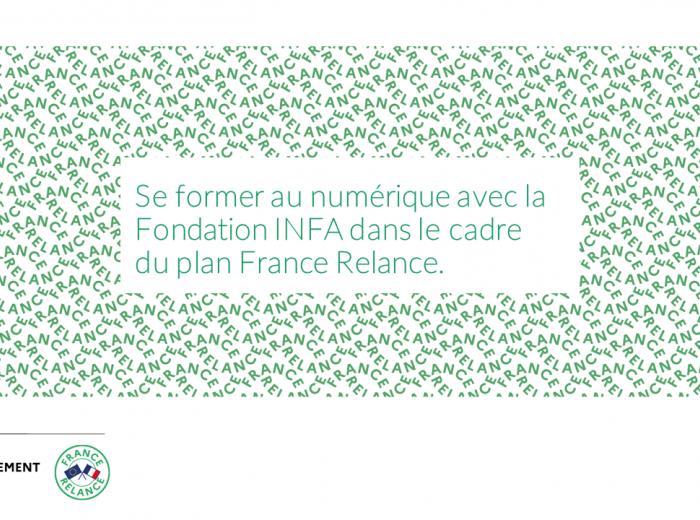 INFA formations numérique France Relance