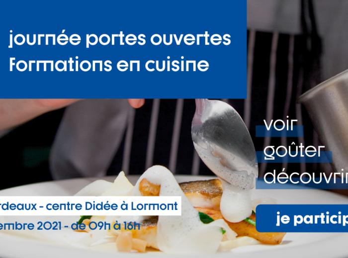 INFA Bordeaux JPO formations cuisine