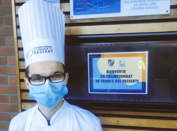 Ryan vainqueur du Championnat de France du Dessert pour la région Nord-IDF