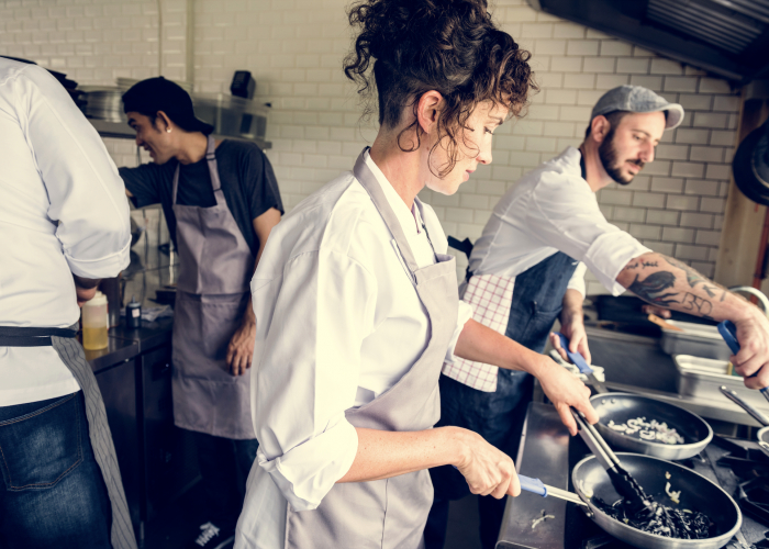 INFA POEC Entrée en formation de Commis de cuisine