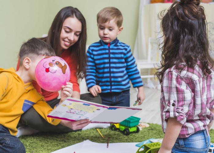 INFA Educateur de jeunes enfants (H/F) Diplôme d'État en Individuel à Nogent-sur-Marne
